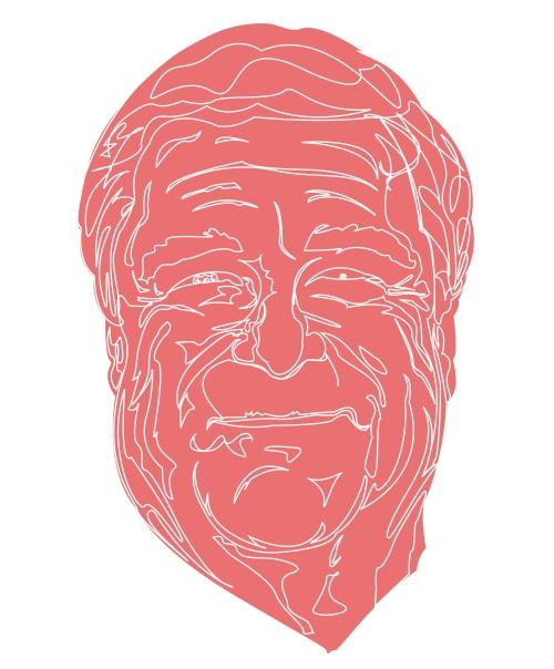 John Goodman in pink