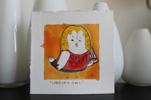 lindsay bluth owl